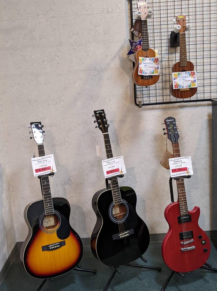 文化堂SHOP ギター・ウクレレ